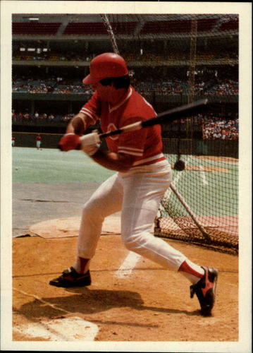 Photo of 1985 Topps Rose #117 Pete Rose/In batting cage