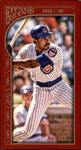 Photo of 2015 Topps Gypsy Queen Mini Red #79 Andre Dawson