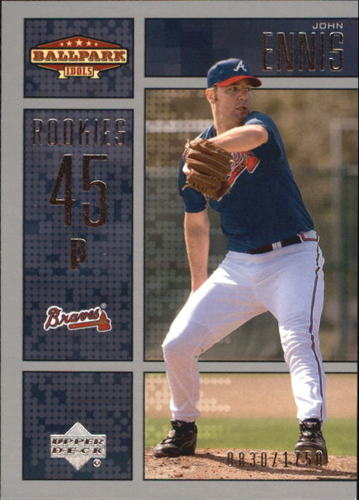 Photo of 2002 Upper Deck Ballpark Idols #206 John Ennis ROO RC
