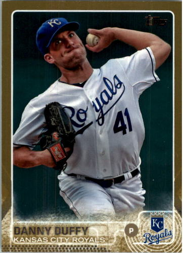 Photo of 2015 Topps Gold #378 Danny Duffy