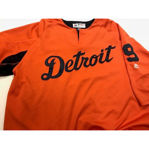 Photo of 2017 Detroit Tiger #9 Road Batting Practice Jersey