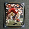 HOF - 49ERS DAVE WILCOX SIGNED 11X14 FRAMED PICTURE