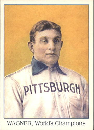 Photo of 2011 Topps CMG Reprints #CMGR11 Honus Wagner -- Hall of Fame Class of 1936