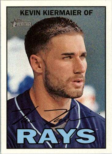 Photo of 2016 Topps Heritage #34 Kevin Kiermaier