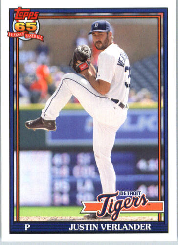 Photo of 2016 Topps Archives #297 Justin Verlander