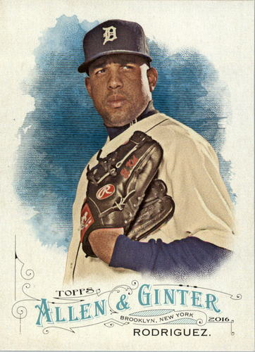 Photo of 2016 Topps Allen and Ginter #22 Francisco Rodriguez