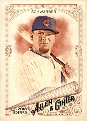Photo of 2018 Topps Allen and Ginter #249 Kyle Schwarber