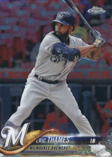 Photo of 2018 Topps Chrome #7 Eric Thames