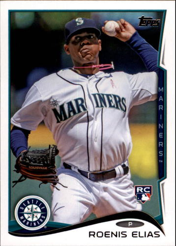 Photo of 2014 Topps Update #US220A Roenis Elias RC