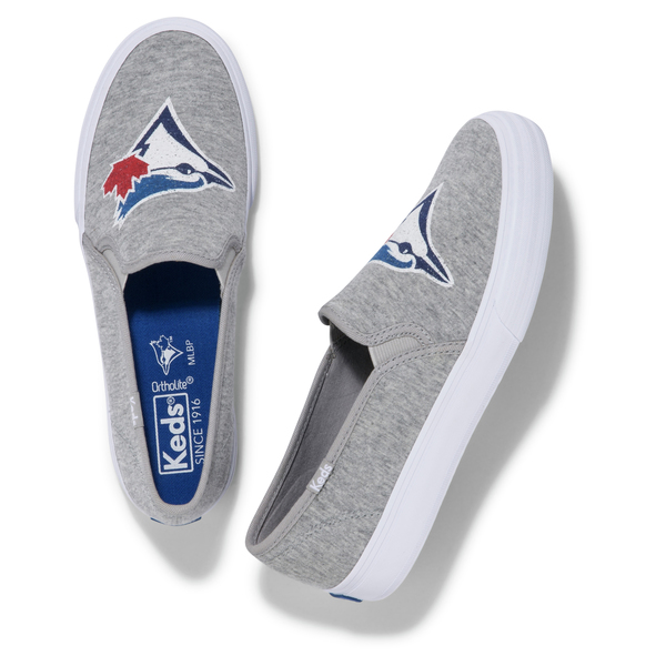Toronto Blue Jays Women's Slip On Sneakers by Keds