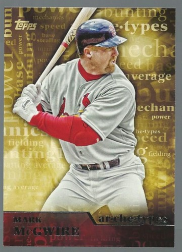 Photo of 2015 Topps Archetypes #A11 Mark McGwire