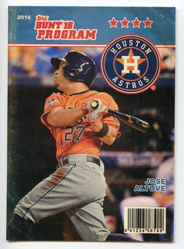 Photo of 2016 Topps Bunt Programs #P11 Jose Altuve