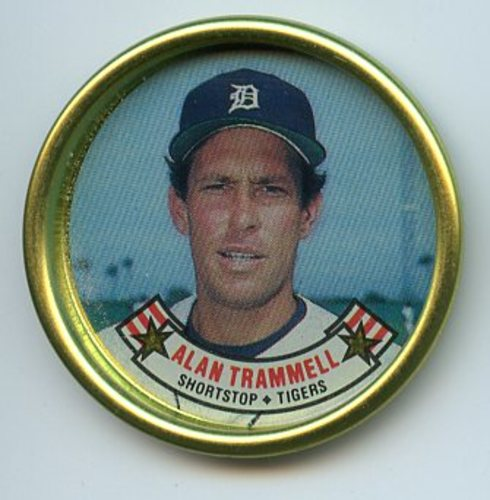 Photo of 1988 Topps Coins #30 Alan Trammell