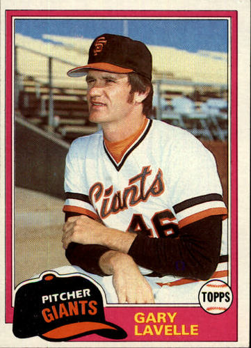 Photo of 1981 Topps #588 Gary Lavelle