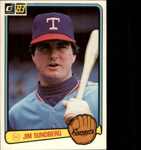 Photo of 1983 Donruss #609 Jim Sundberg