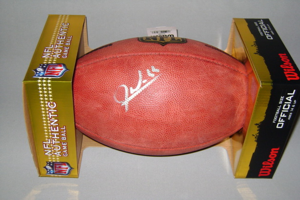 NFL - JODY WEBB SIGNED AUTHENTIC FOOTBALL