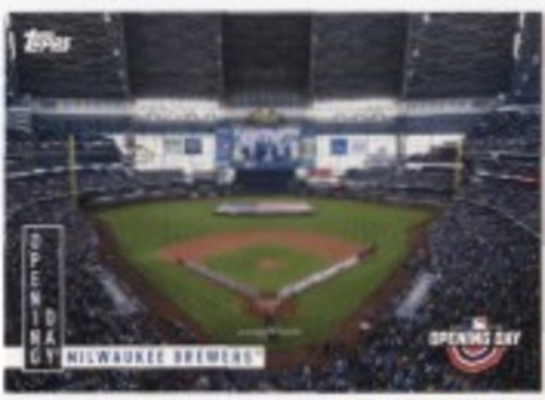 Photo of 2020 Topps Opening Day Opening Day #OD5 Milwaukee Brewers