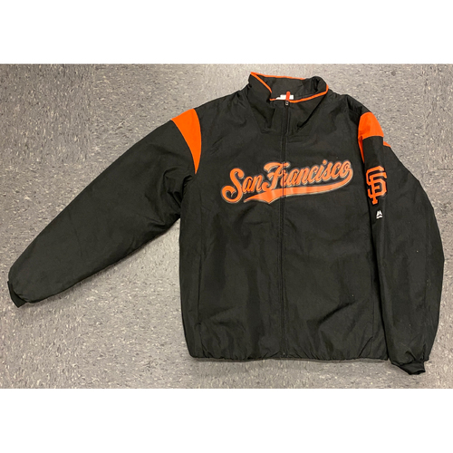 Photo of 2019 Team Issued On-Field Jacket - #5 Mike Yastrzemski - Size L