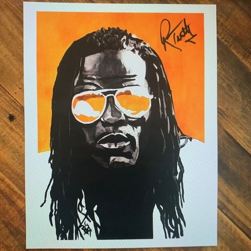 Photo of R-Truth SIGNED 11 x 14 Rob Schamberger Print