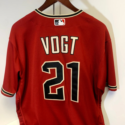 Photo of Stephen Vogt Game-Used Jersey  - Rockies @ D-backs 9/27/2020