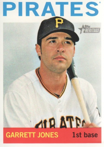 Photo of 2013 Topps Heritage #193 Garrett Jones