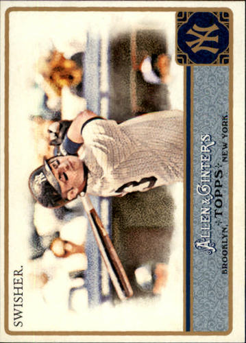 Photo of 2011 Topps Allen and Ginter #202 Nick Swisher