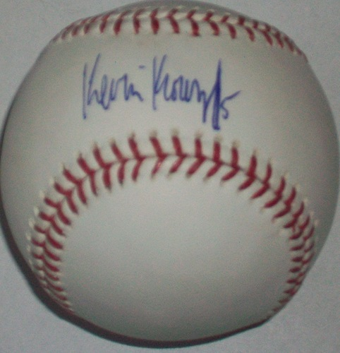 Photo of Kevin Kouzmanoff Autographed Baseball