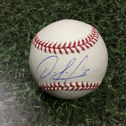 Orlando Arcia Autographed Baseball
