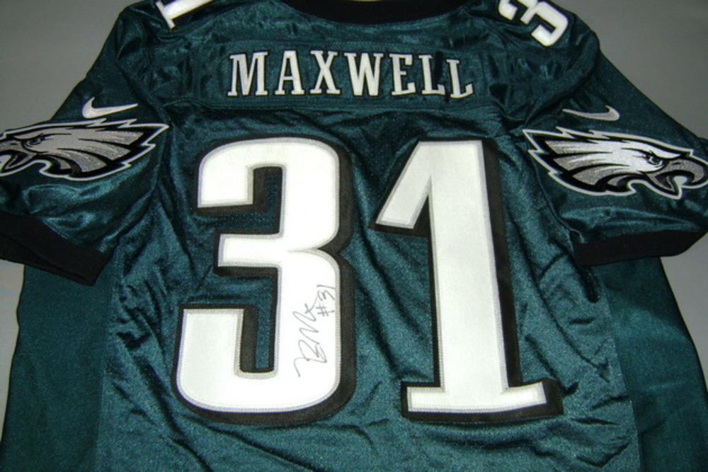 NFL Auction   EAGLES - BYRON MAXWELL SIGNED EAGLES AUTHENTIC ...