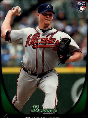 Photo of 2011 Bowman Draft #50 Craig Kimbrel Rookie Card -- Red Sox post-season