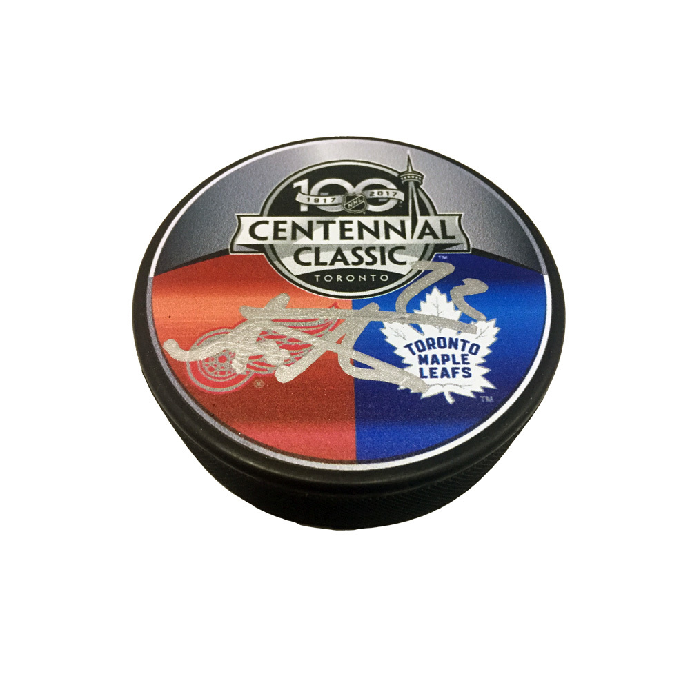 ANDREAS ATHANASIOU Signed Centennial Classic Puck