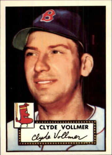 Photo of 1983 Topps 1952 Reprint #255 Clyde Vollmer