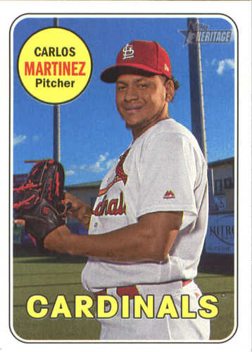 Photo of 2018 Topps Heritage #265 Carlos Martinez