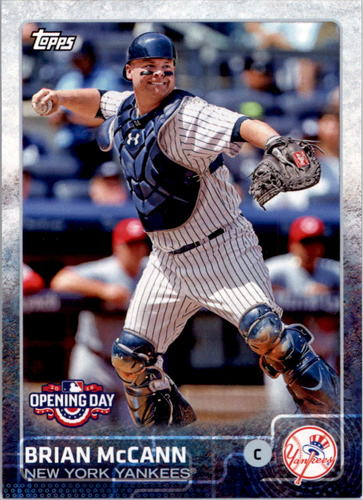 Photo of 2015 Topps Opening Day #197 Brian McCann