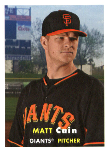 Photo of 2015 Topps Archives #96 Matt Cain