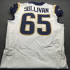 Crucial Catch - Rams John Sullivan Game Used Jersey  (October 7th,2018) Size 42