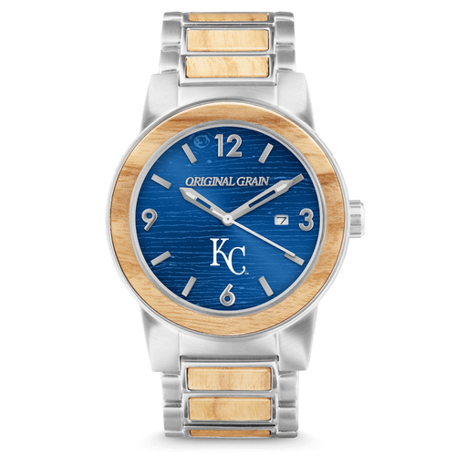 Photo of Kansas City Royals - Reclaimed Baseball Bat Watch