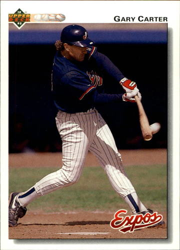 Photo of 1992 Upper Deck #767 Gary Carter