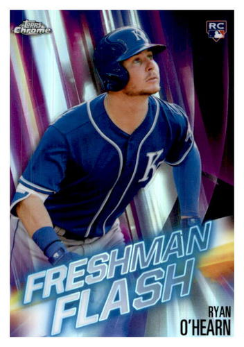 Photo of 2019 Topps Chrome Freshman Flash #FF13 Ryan O'Hearn