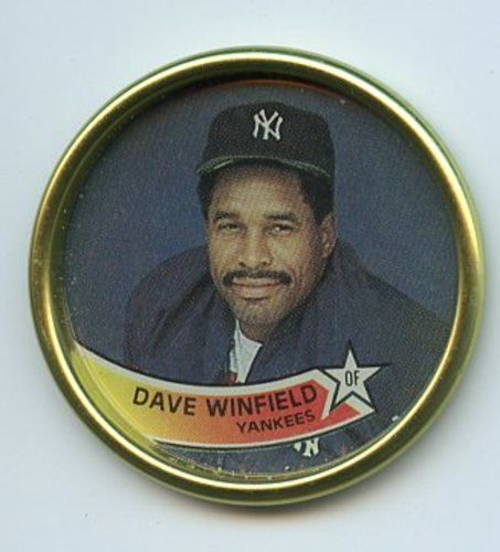 Photo of 1989 Topps Coins #58 Dave Winfield