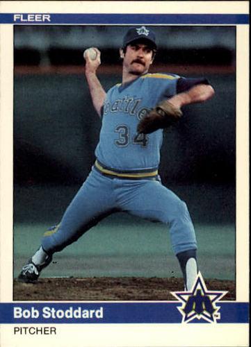 Photo of 1984 Fleer #620 Bob Stoddard