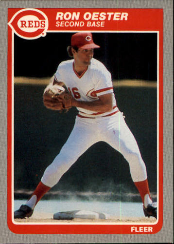 Photo of 1985 Fleer #542 Ron Oester