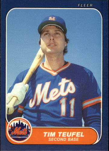 Photo of 1986 Fleer Update #110 Tim Teufel