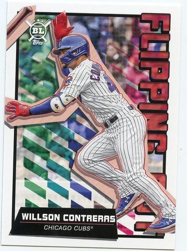 Photo of 2020 Topps Big League Flipping Out #FO15 Willson Contreras