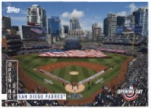 Photo of 2020 Topps Opening Day Opening Day #OD10 San Diego Padres