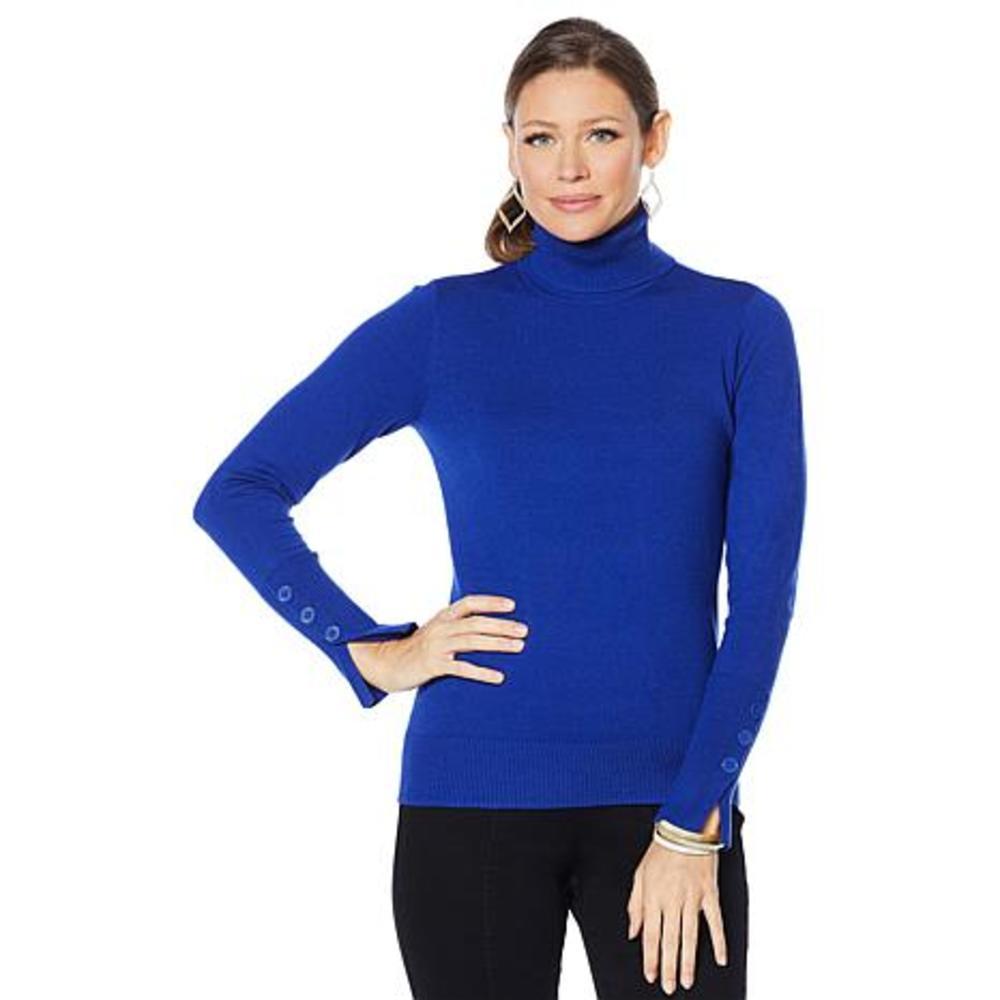 Photo of Motto Long Sleeve Turtleneck Sweater