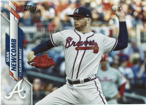 Photo of 2020 Topps #635 Sean Newcomb