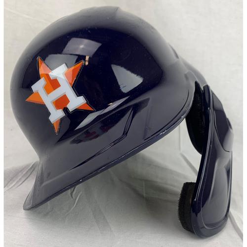 Photo of Jose Altuve Game-Used 2020 Postseason Helmet