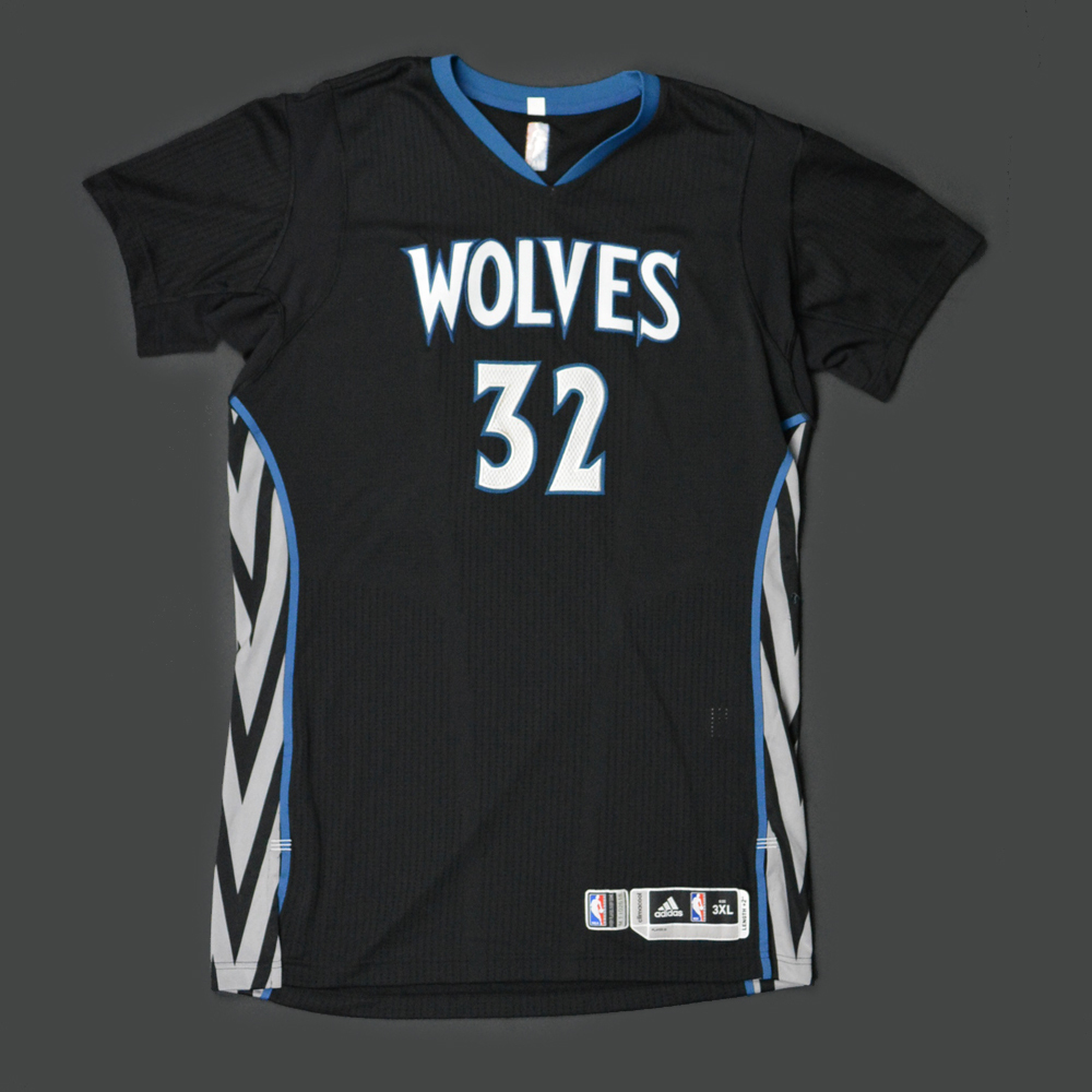 new arrivals 230fd 9f69d Karl-Anthony Towns - Minnesota Timberwolves - Game-Worn ...