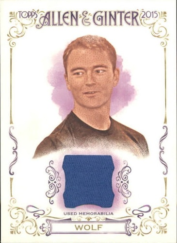 Photo of 2015 Topps Allen and Ginter Relics #FSRARW Robb Wolf A